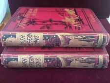 NORTH AMERICAN INDIANS Volumes I & II by George Catlin 1880 Books 400 Illust.