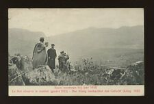 Yugoslavia Serbia Balkans War 1912 - The King observing the Combat used PPC