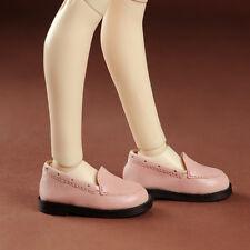 Dollmore 1/4 BJD Scale Size MSD - Comcom loafer (Pink) shoes