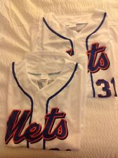 Mike Piazza NEW YORK METS Replica Jersey Shirt! SGA 7/29/16 HOF! FREE SHIPPING