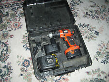 Black Decker cd14c 14,4v con DeWalt zubechor