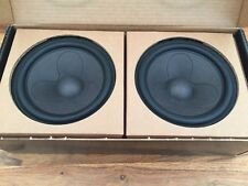 Matched Pair of Scanspeak 18WU/4741T00 Mid/Bass Speaker Drivers - Brand New