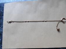 belle chaine de montre a gousset en plaqué or