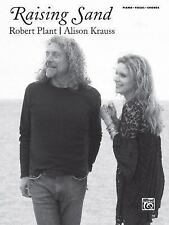 NEW - Robert Plant and Alison Krauss -- Raising Sand: Piano/Vocal/Chords