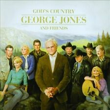God's Country: George Jones and Friends by Various Artists (CD, Dec-2013, 2...