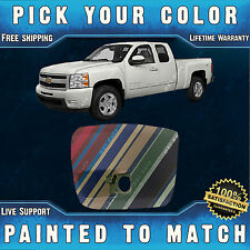 NEW Painted To Match - Drivers Front Bumper LH End Cap 2007-2013 Chevy Silverado