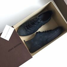 BNIB 100% Authentic Louis Vuitton Monogram Sneakers Navy LV 8.5UK / 42.5EU