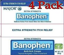 Major Banophen Anti-Itch Cream, Extra Strength, 1oz, 4 Pack 009045354314A177