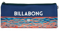 "BRAND NEW + TAG BILLABONG ""LARGE"" NEOPRENE PENCIL CASE HAZE (FITS 30CM RULER)"