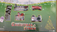 CHRISTMAS TRAIN SET 106 PIECES INC. TREES SANTA SNOWMAN BIG TRACK 151CM X 109CM