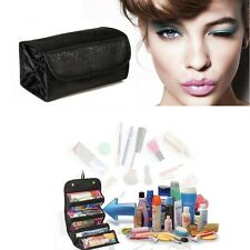 Women Portable Cosmetic Bag Make-up Hanging Toiletries Travel Kit Jewelry Bag LJ
