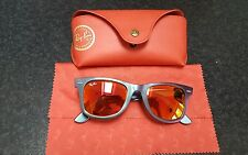 Rayban Wayfarer Cosmo Limited Edition Sunglasses In Case