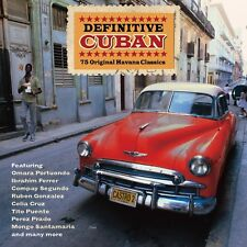 Definitive Cuban VARIOUS ARTISTS Best Of 75 Latin Songs MUSIC New Sealed 3 CD