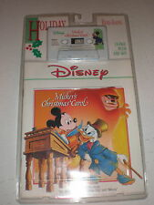 Mickey's Christmas Carol CASSETTE/BOOK NEW