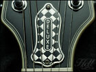 DIAMOND DELUXE Diecast Truss Rod Cover. Fits most Gibson Les Paul, SG others.