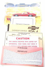 GM 1964 Chevy Corvette Owner's Manual (o) #3841542