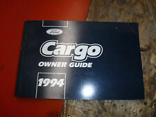1994 FORD CARGO TRUCK ORIGINAL FACTORY OWNERS MANUAL GUIDE