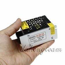 12V 3A 36W AC110-220V TO DC Switch Power Supply Driver adapter For LED Strip