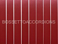 Accordion BELLOWS TAPE BURGUNDY RED PLAIN Roll 19mm x 8.89m (350 inches)