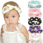 Baby Toddler Cute Girls Kids Turban Rabbit Headband Bow Hairband Head Bands