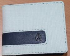 Men's Nixon Showoff Bi-Fold Mint Nylon Wallet. RRP $39.99. NWT.