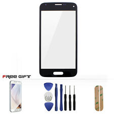 For Samsung Galaxy S5 Mini Front Touch Screen Glass Lens Digitizer + Tools Black