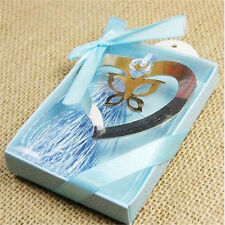 FD3688 Heart Butterfly Creative Exquisite Alloy Bookmarks With Ribbon Box Gift♫