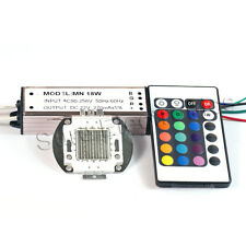 20W RGB High Power LED Light Lamp Panel w 20W High Power RGB LED Driver AC90-265