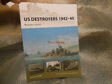 New Vanguard US Destroyers 1942-45 #165 Book