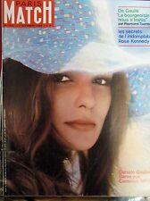 PARIS MATCH N° 1022 DANIELE GAUBERT ROSE KENNEDY BARDOT BREL COUSTAUD 1968