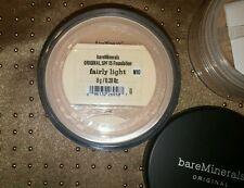 NEW Bare Minerals Escentuals Fairly Light SPF 15 Foundation 8g N10