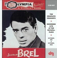 BREL,JACQUES-Olympia  61 &  64 CD NEW