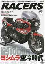 Racers Vol. 28 Yoshimura Suzuki GS1000R XR 69 Magazine from Japan