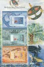 2012 Stamp Malaysia Currency 2nd Series, 2 Different type block 3 Sheet