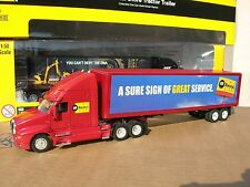 NORSCOT 1/50 CAMION KENWORTH T 2000 6X4  +REMORQUE magasin depanage CATERPILLAR!