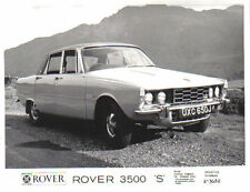 Rover 3500 S P6 1971 Original b/w Press Photograph No. 213482