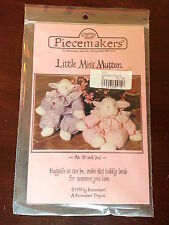 Little Miss Mutton Craft Sewing Pattern - County Store Piecemakers - New 1990