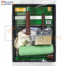 Harris Transform Shed, Fence & Decking Paint Roller & Brush Kit 9 Inch
