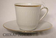 HUTSCHENREUTHER china LUXOR-GOLD pattern Cup & Saucer