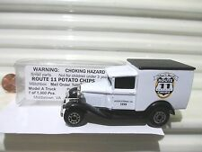 Matchbox 1999 MB38 ROUTE 11 POTATO CHIPS Middletown Virginia Model A Ford Van