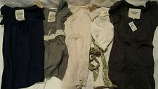 Abercrombie & Fitch HOLLISTER Women's XS Lot of 5 Short Sleeve Tops NWT NWOT