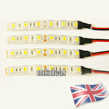 4 X 10CM WARM WHITE 5050 LED STRIP LIGHTS 12V CARAVAN CAMPING CAR WATERPROOF VAN