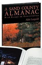 A Sand County Almanac by Aldo Leopold (2001, Hardcover, Reprint, Illustrated)