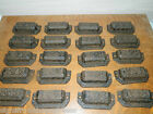 Lot/20~Ornate Cast Iron Industrial Tool Seed Index File Bin Pull or Handles