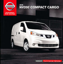 2016 Nissan NV200 Cargo Van 12-page Original Car Sales Brochure Catalog