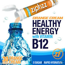 Zipfizz Healthy Energy Drink Mix Orange Cream 30 Tubes