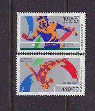 germany 1989 Sc B675/6 set MNH            b1194