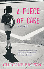 A Piece Of Cake, Brown, Cupcake Paperback Book