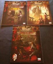 D&D 3.5 Lot of 3 Modules Wicked Fantasy Factory #0, 1, & 2 D20 GMG4700-4702 NEW!