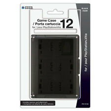 New Genuine PS Vita Hori PSV-012U Card Case 12 Black - Free shipping!
